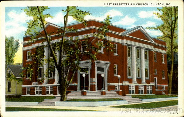 First Presbyterisn Church Clinton Missouri