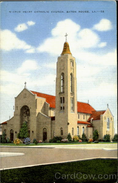 Sacred heart catholic church Baton Rouge Louisiana