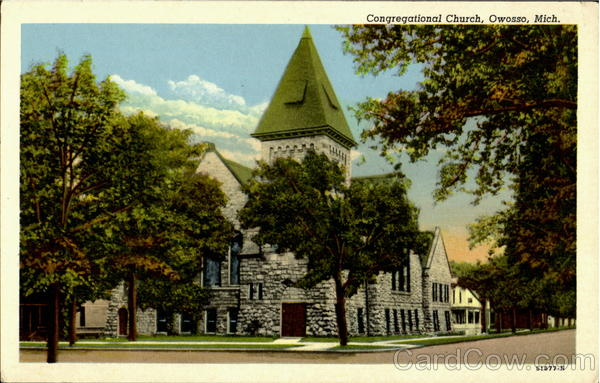 Congregational church Owosso Michigan