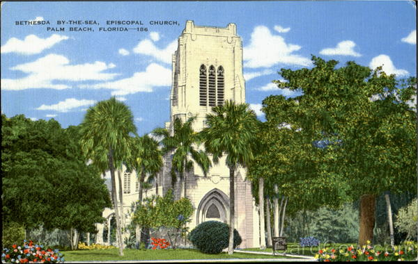 Bethesda Bt-The-Sea, Episcopal Church Palm Beach Florida
