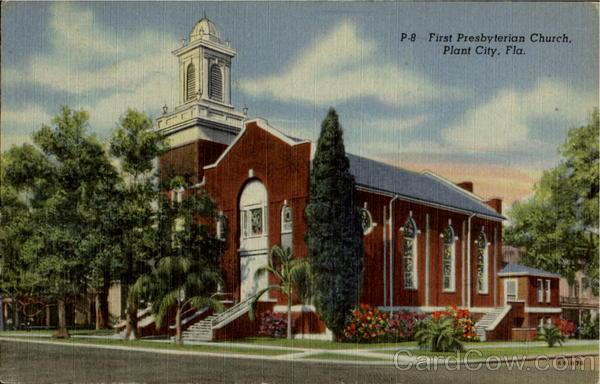 P-8-First Presbyterian Church Plant City Florida