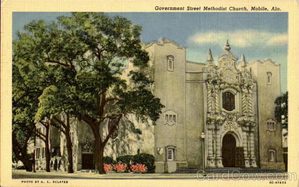 Government Street Methodist Church Mobile Alabama