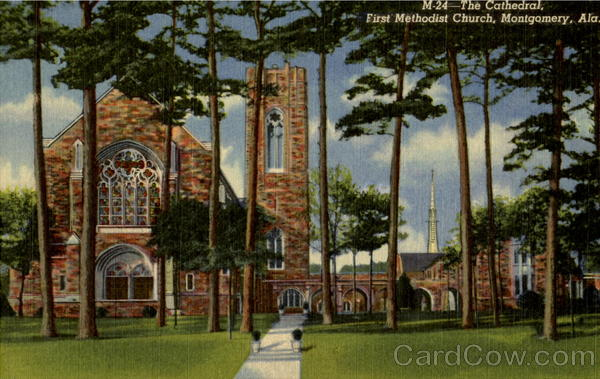 The Cathedral, First Methodist Church Montgomery Alabama