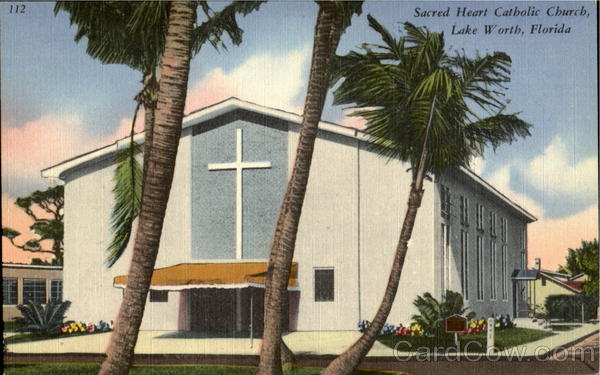 Sacred Heart Catholic Church Lake Worth Florida