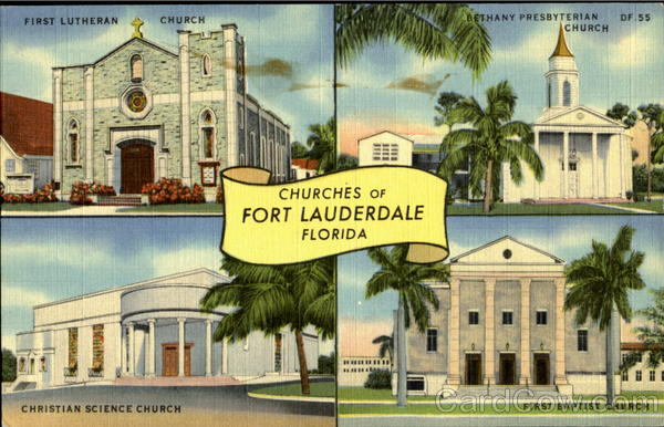 Churches Of Fort Lauderdale Florida