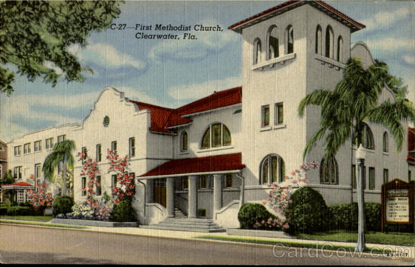 First Methodist Church Clearwater Florida