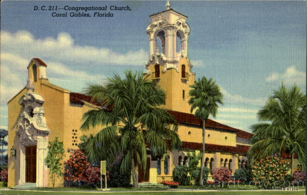 Congregational Church Coral Gables Florida