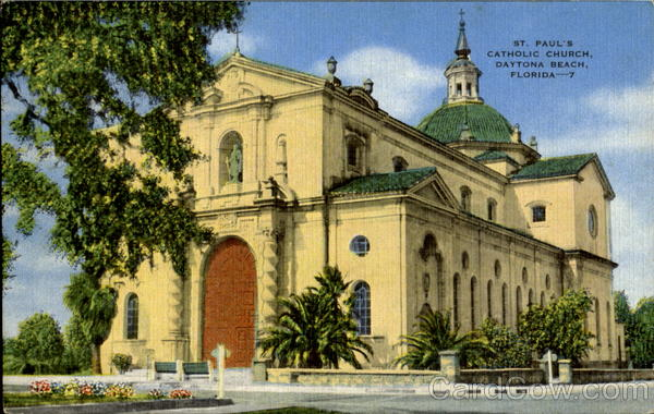 St Paul Catholic Church Daytona Beach Fl
