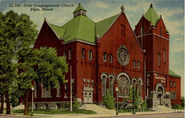 First Congregational Church Elgin Illinois