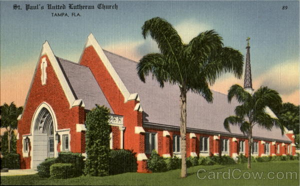 St. Pauls United Lutheran Church Tampa Florida