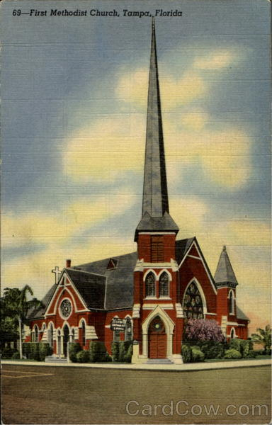 69 - First Methodist Church Tampa Florida