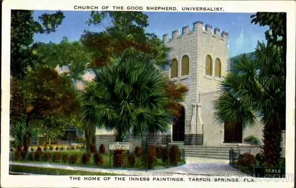 Church of the Good Shepherd, Universalist, The Home of the Inness Paintings Tarpon Springs Florida