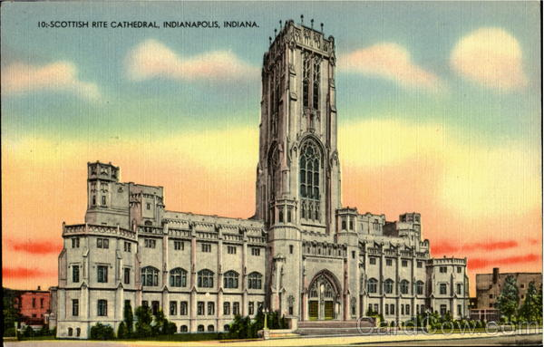 10:- Scottish Rite Cthedral Indianapolis