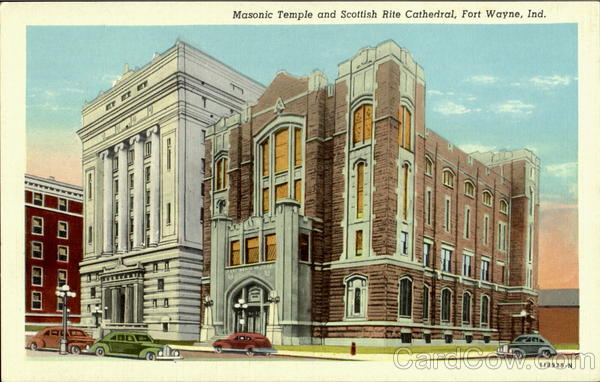 MAsonic Temple and Scottish Rite Cathedral Fort Wayne Indiana