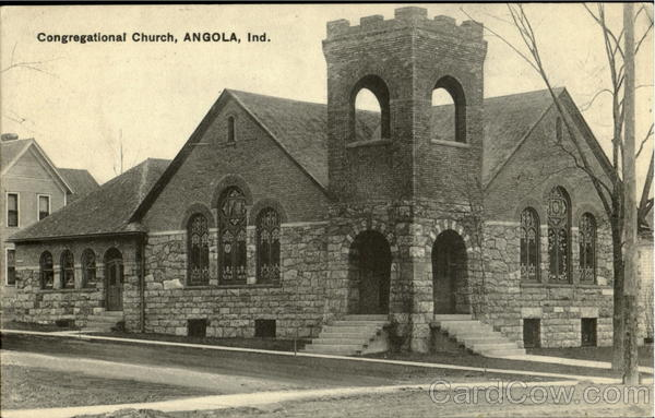 Congregational Church Angola Indiana