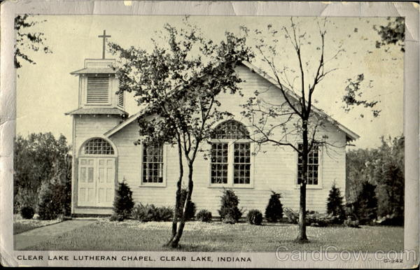 Clear Lake Lutheran Chapel Indiana