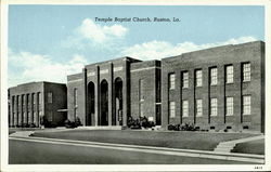 Temple Bapist Church Postcard
