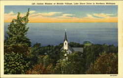 Indian Mission At Middle Village, Lake Shore Drive
