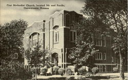 First Methodist Church, Located 5th And Pecific Postcard
