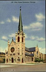 179-Holy Name Cathedral Postcard