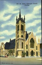 205-St. James Epispocal Church Postcard