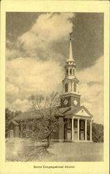 Storrs Congregational Church Postcard