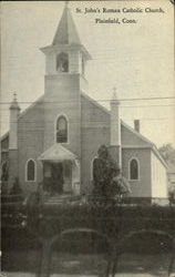 St.John's roman Catholic Church Postcard