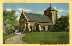 Church Of The Recessional Postcard