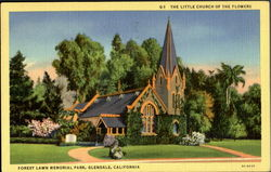 The Little Church Of The Flower Postcard