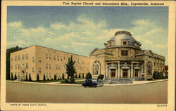 First Baptist Church And Educational Bldg