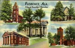 Florence, Ala. City of beautiful churches
