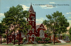 First Methodist Church And Acker Memorial Building