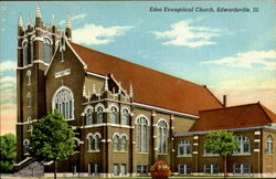 Eden Evangelical Church Postcard