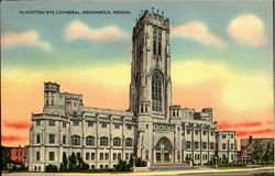 10:- Scottish Rite Cthedral Postcard