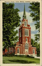 Memorial Chapel,Culver Military Academy