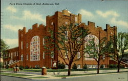 Park Place Church Of God Postcard