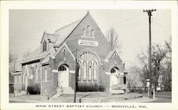 Main Street Baptist Church Postcard