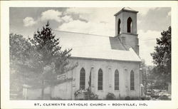 St. Clements Catholic Church Postcard