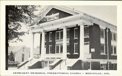 Hemenway Memorial Presbyterian Church Postcard