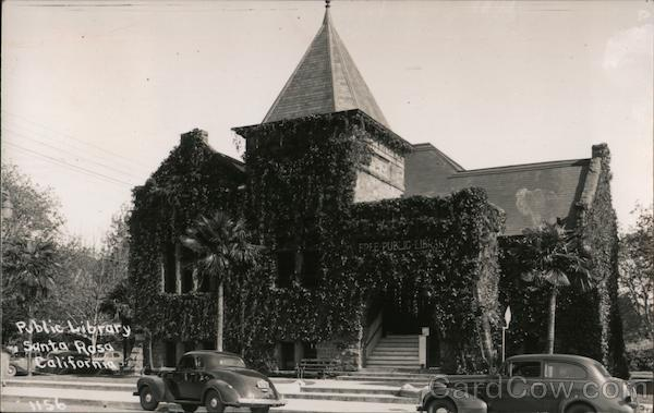 Public Library Santa Rosa California