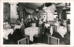 Canyon Hotel Dining Room Postcard