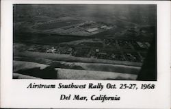 Airstream Southwest Rally Oct. 25-27, 1968 Postcard