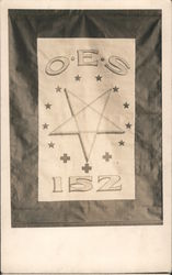 OES 152 Banner Postcard