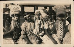 Indian Babies and Their Moms Postcard