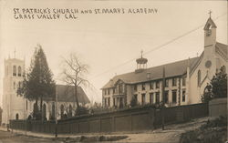 St. Patrick's Church and St. Mary's Academy Postcard