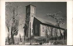 St. Anns Church Postcard