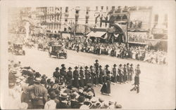 4th of July Parade - Women's Suffrage c1918 Postcard