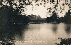 Boat House Stow Lake, Golden Gate Park Postcard