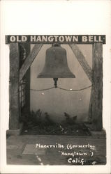 Old Hangtown Bell Postcard