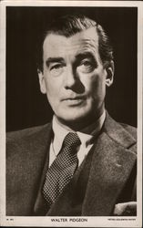 Walter Pidgeon Postcard